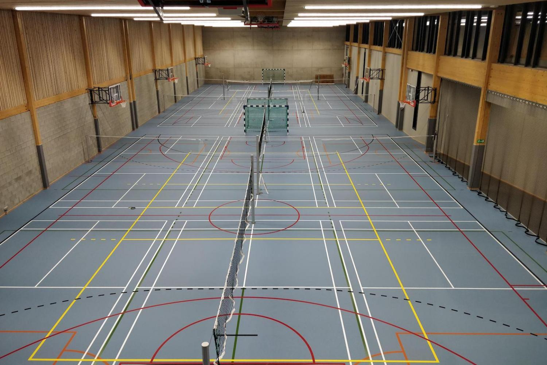 Hall sportif